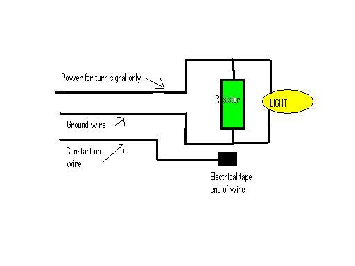 3 wire to 2 wire LED front signals | Sport BikesSportbikes.net