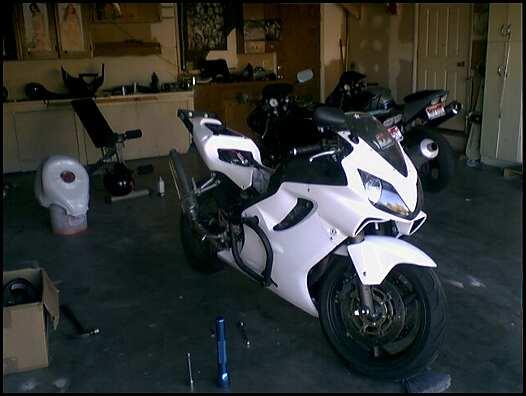 Stunt Bike Set Up