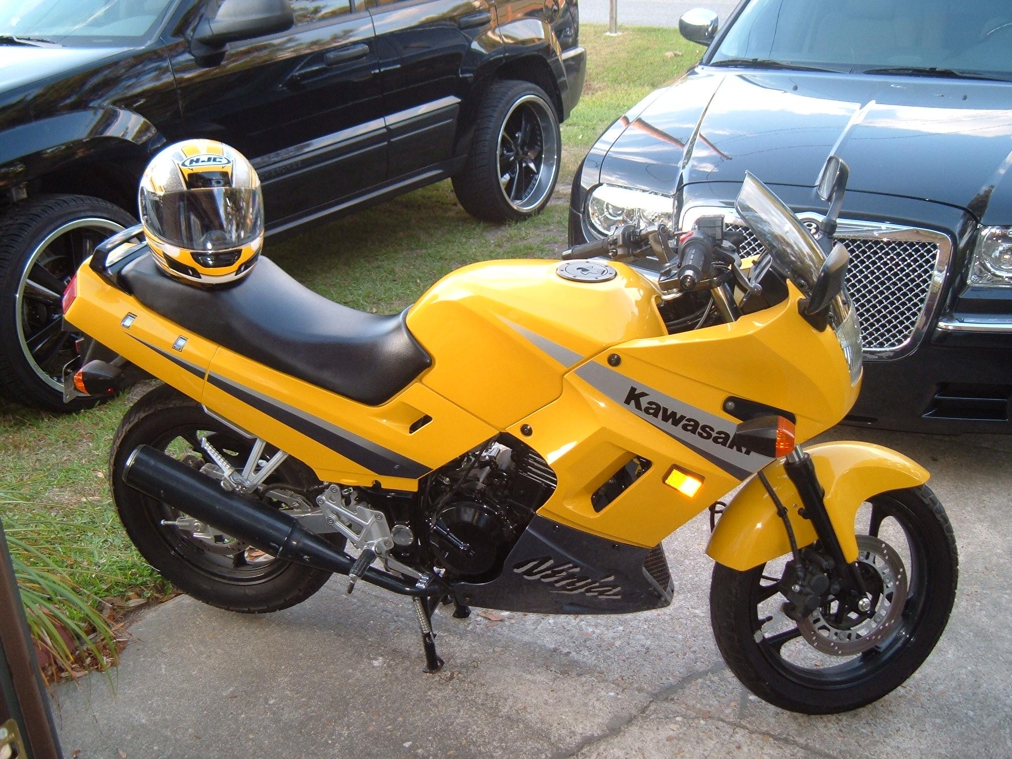 2007 Kawasaki Ninja 250r Helmet Lock Ash Cycles