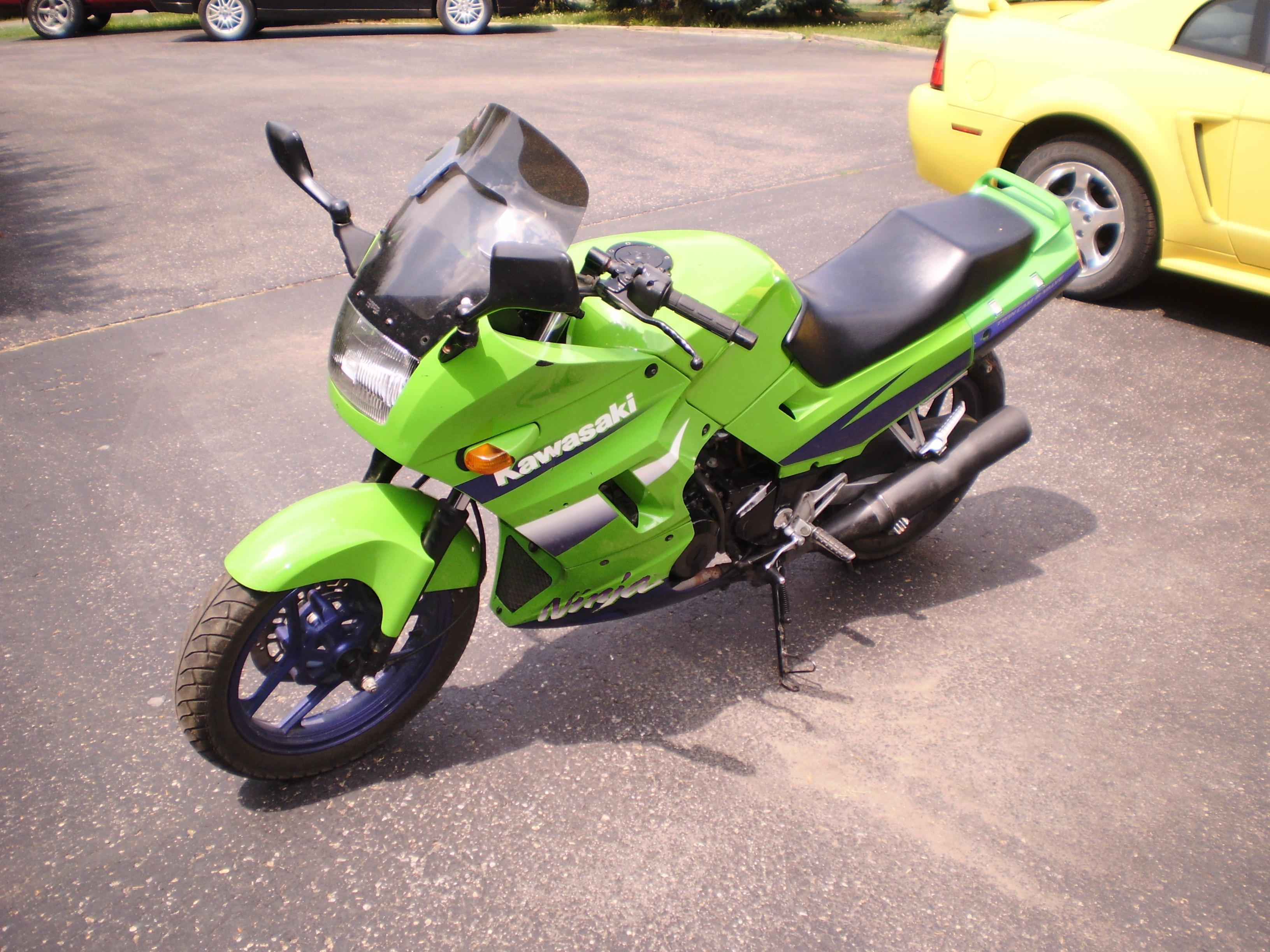 Sold 2000 Kawasaki Ninja 250 1300 Williamsport Pa 500r Wiring Diagram Click Image For Larger Version Name P4240019 Views 12656 Size 8372