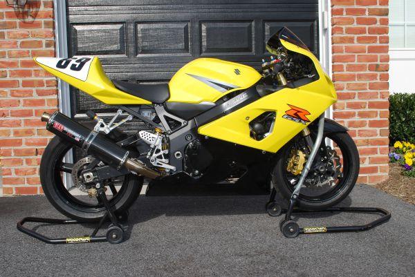 fs 2004 gsxr 750 track bike. Black Bedroom Furniture Sets. Home Design Ideas