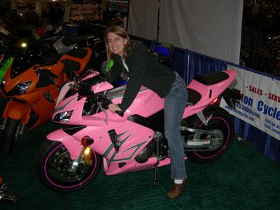 Sport Bike - Pink Blac...