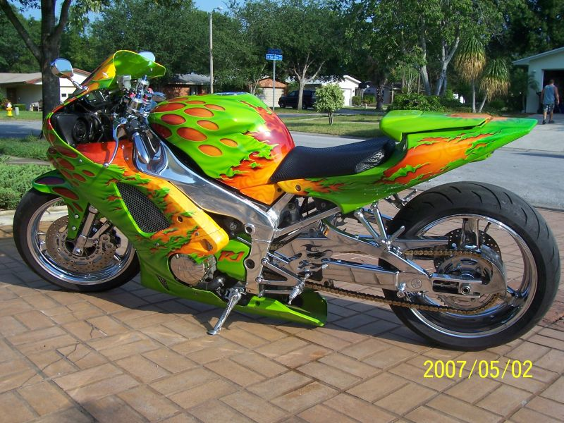 Custom R1 Paint Jobs http://www.sportbikes.net/forums/bikes-sale/353968-custom-yamaha-r1-florida.html