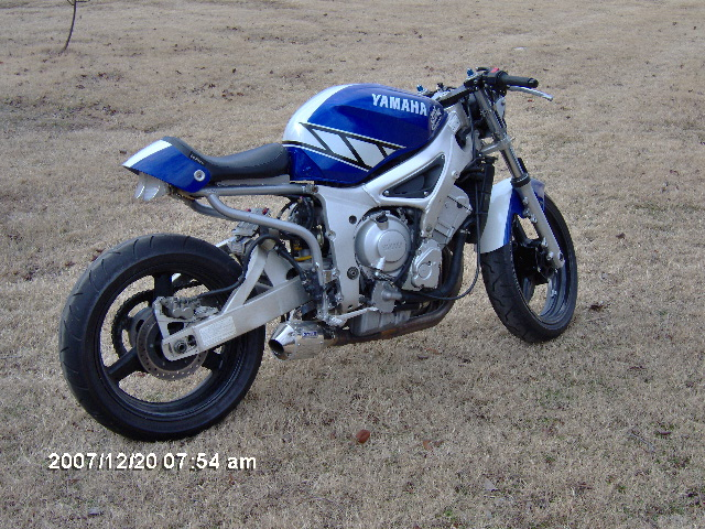 2001 R6 Champions Edition Streetfighter Sport Bikes