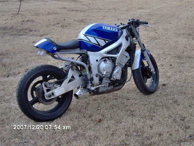 2001 R6 Champions Edition Streetfighter Sport Bikes