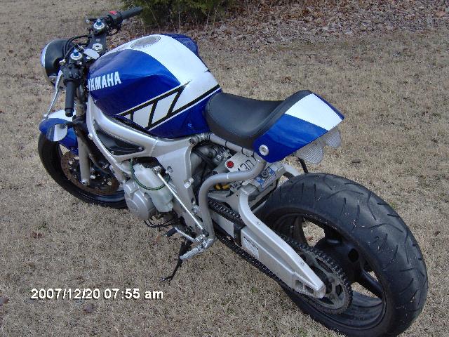 2003 Yamaha R6 Streetfighter Kit - Foto Yamaha Best Contest