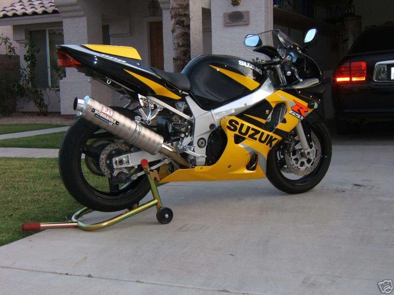 2002 Suzuki GSXR 600 Clean Title Minty $5000 SoCal