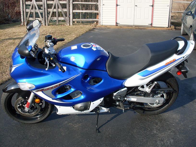 2006 Suzuki Katana 600 2006 Suzuki Gsx 600 Katana