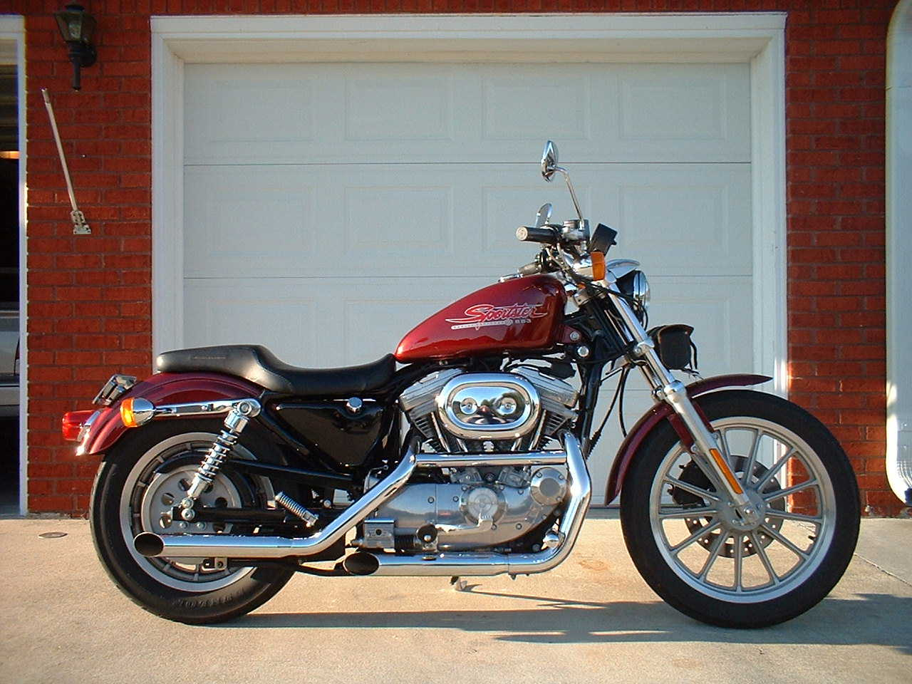 2000 Harley Davidson Sportster 883 Ide Dimage De Moto Xl Wiring Harness The And Buell Motorcycle Hd Sportbikes
