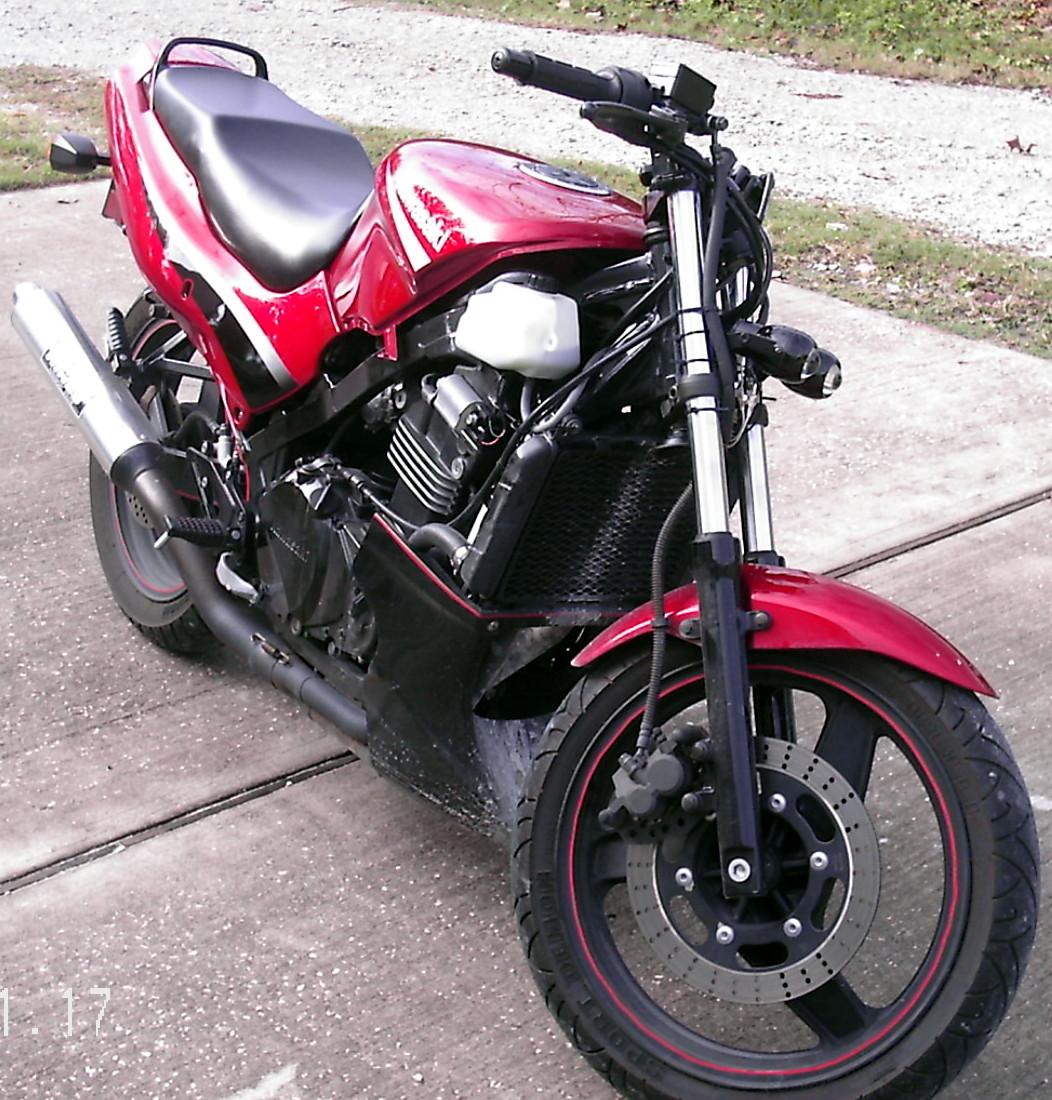 Kawasaki Ninja R Streetfighter