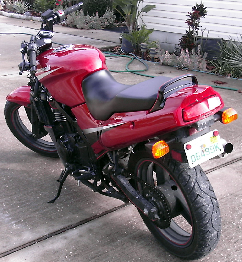 my ex500, from stock, to streetfighter. - Sportbikes.net