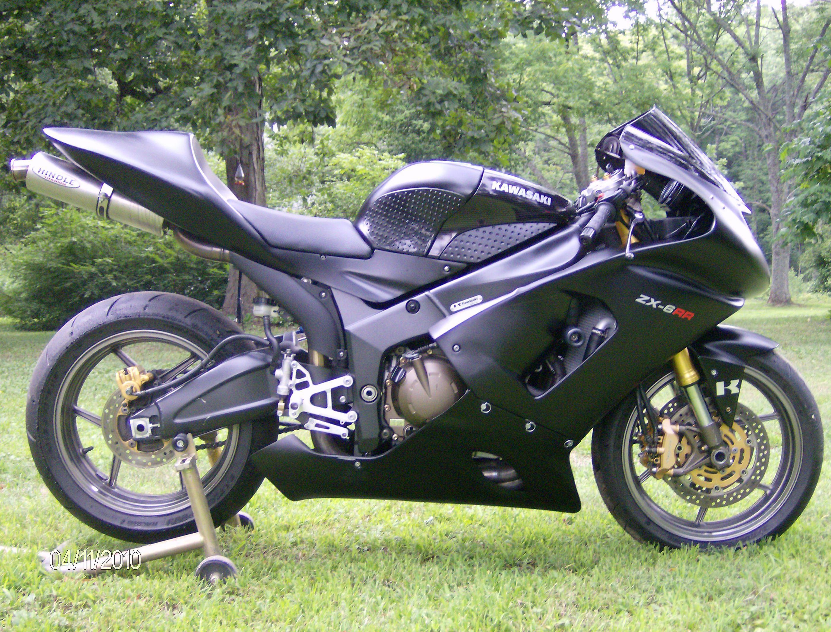 05 Kawasaki Zx6rr 600 Track Bike For Sale
