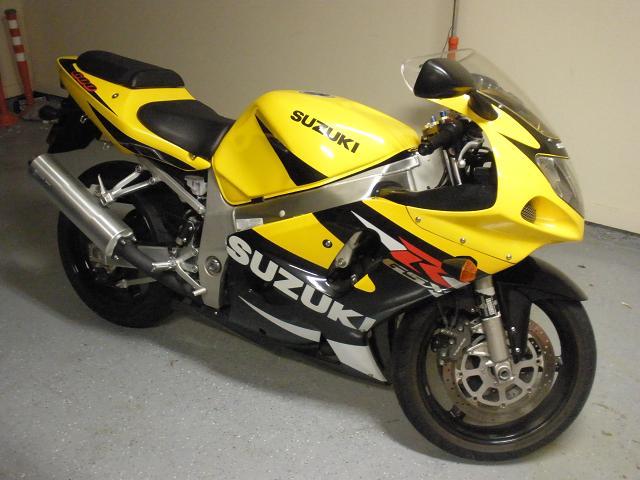 2001 Suzuki Gsxr 600 -  4 000