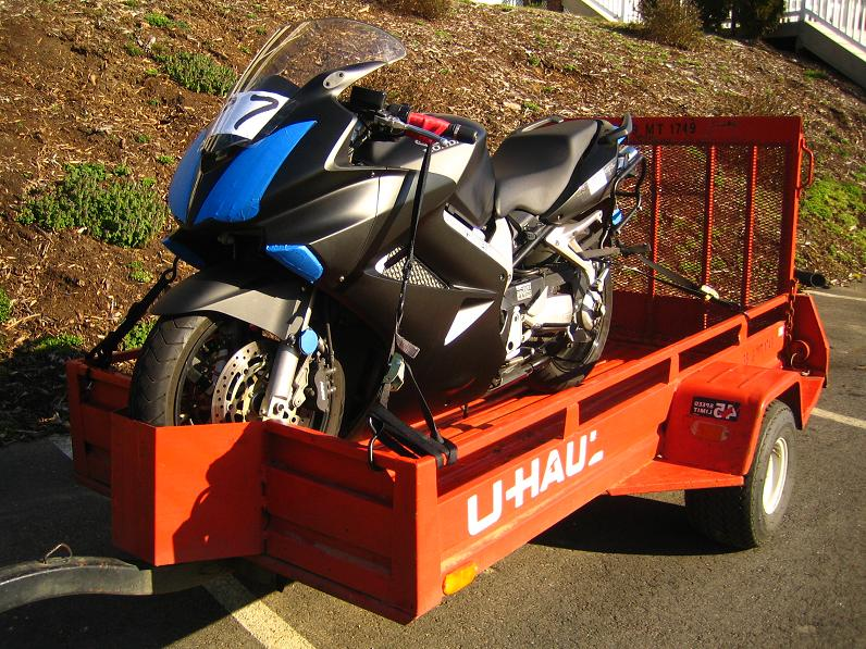 U Haul Trailer Sportbikes Net