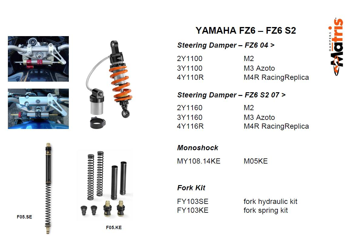 All Matris products for FZ6 Lo_oK here - Sportbikes.net