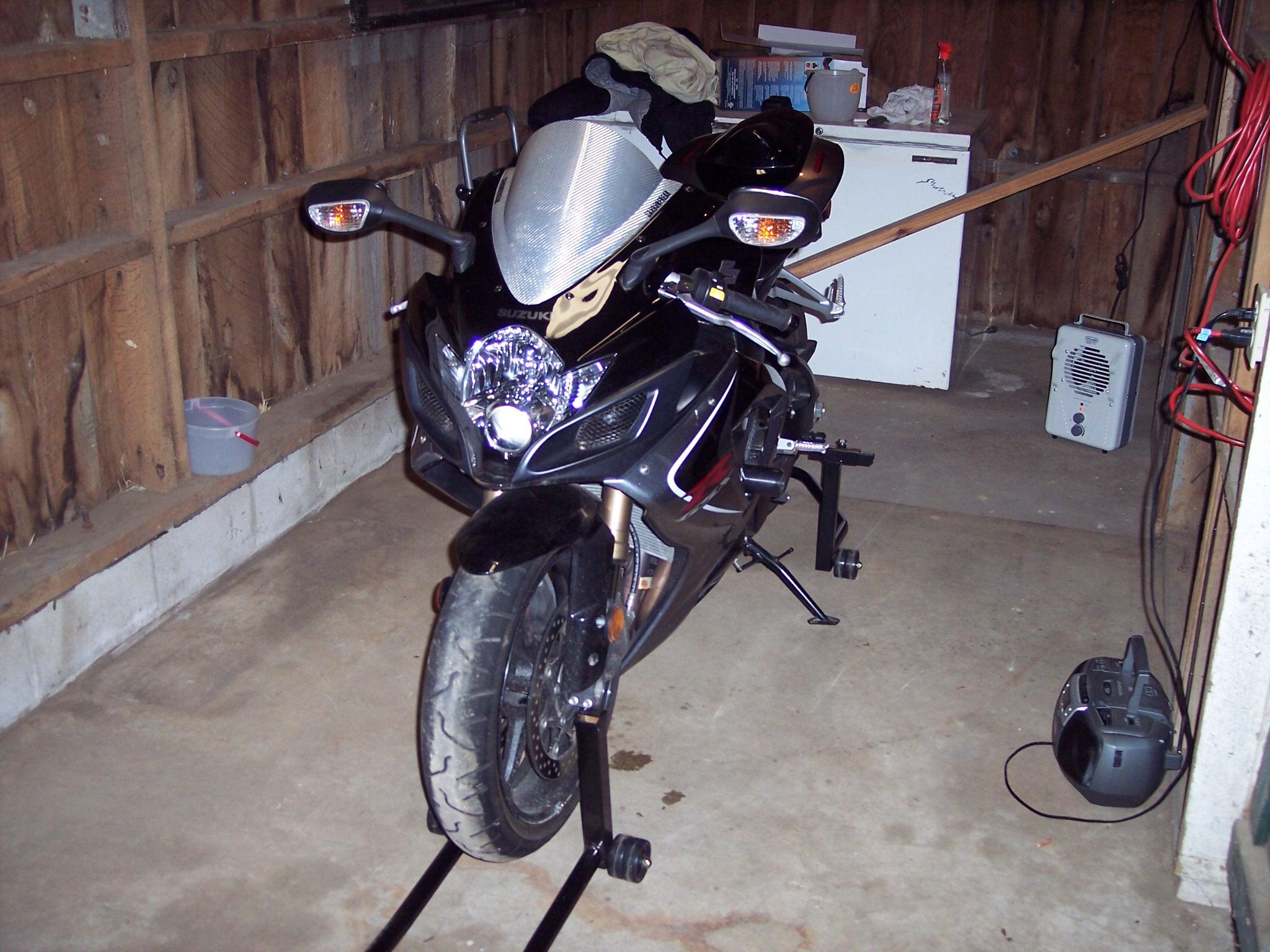 Hehehehe Worked On My Motorcycle Garage Today
