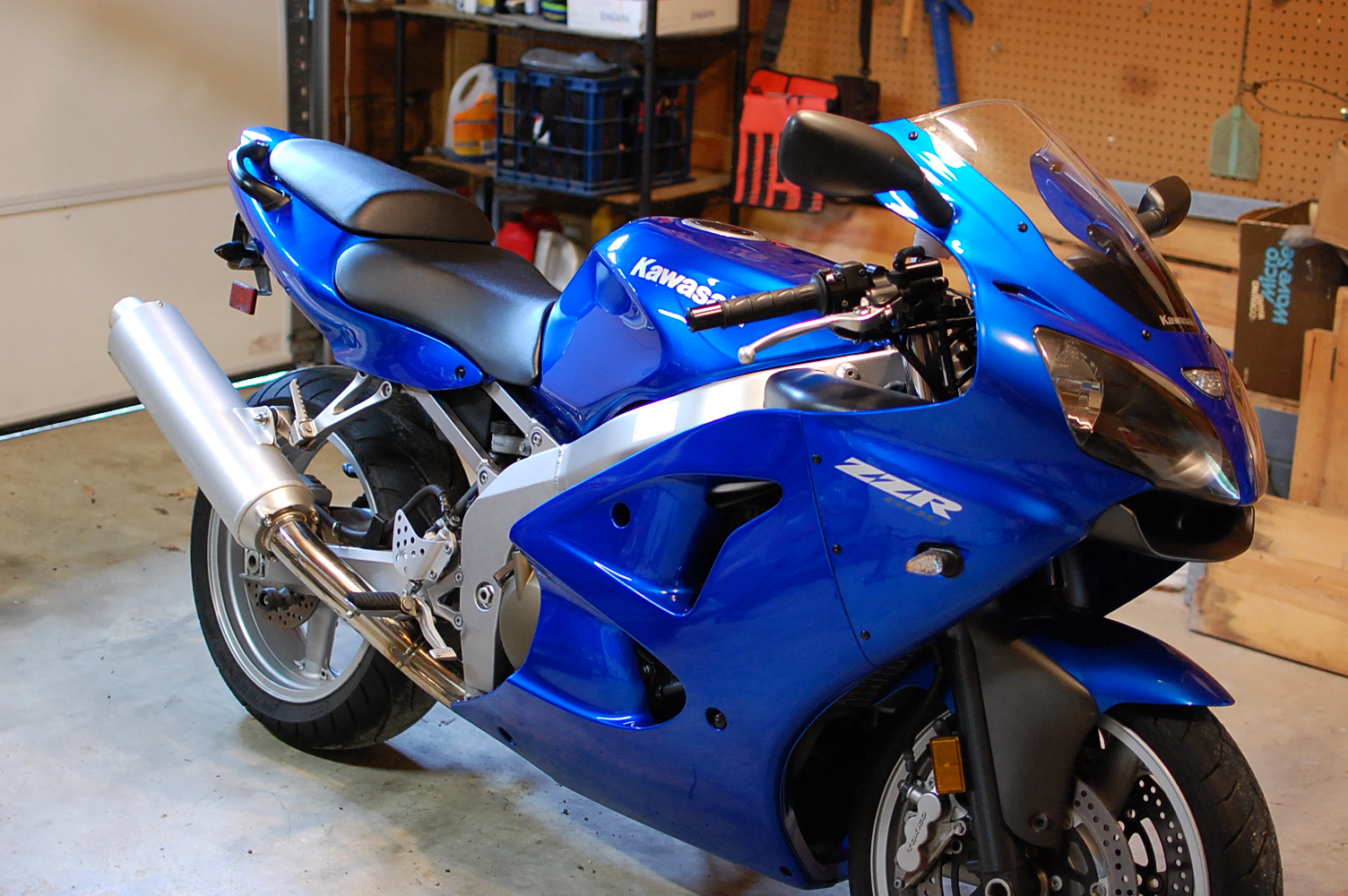 2008 Kawasaki ZZR600 (East Virginia) - Sportbikes.net