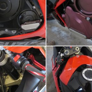 ENGINE SLIDERS/LEVERS
